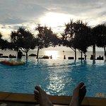 The only Sunset Beach Pool on Koh Lanta