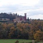 """Vista della camera """"Il Castello"""""""