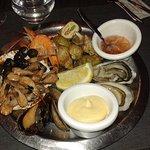 Assiette de fruits de mer, délicieuse et fraiche !
