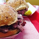 Beef on Weck - perfect sandwich