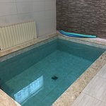 Cottage private indoor heated pool!