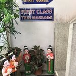 This is the Sunset Thai Massage located on the premises. Excellent!