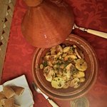 Welcome dinner - tajine de poulet!