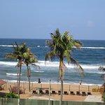 Beach area, by beach bar and beach restaurant- viewed from my roon