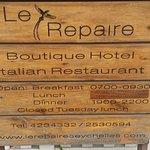 Foto de Le Repaire Boutique Hotel