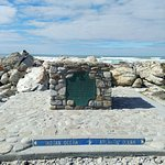 Cape Agulhas - Southernmost Tip of Africa Foto