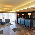 Hotel Lobby Area/Front Desk