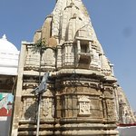 One of the temple spires