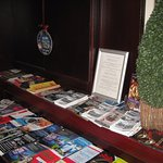 Tourist information leaflets available at the reception area.
