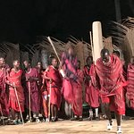 """On """"African Night"""" we were graced by Masai tribesmen who danced for us."""