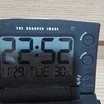 quase 31 graus dentro do quarto!!!!