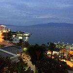 Sarande Bay - Corfu in the distance