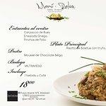 Nuestro menú de Fin de Semana te enamorará! :)