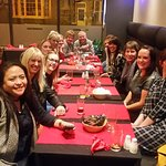 Scarborough hospital staff leaving party at Nishat Spice on Wednesday.
