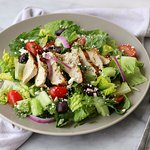 A heathier choice - Greek chicken salad