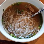 My Pho, it was like boiled water with meat
