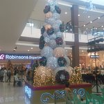 Xmas time in Robinson Mall