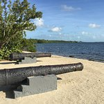 Cannons at the Beach. Beautiful!