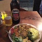 Chicken Tiki Marsala + a massive Cabro Beer