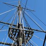 The replica ship 'Elena'