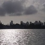 View of Miami Skyline from monument island