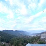 Panoramic balcony view