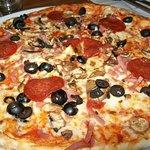 Pepperoni Pizza Al Forno.