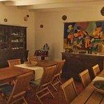Le bar et la salle à manger