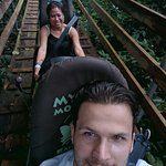 Photo de Rainforest Bobsled Jamaica at Mystic Mountain