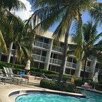 Pool area. East villas