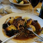 Roast Pork with amazing vegetables and excellent gravy... Yum