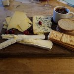 Cheese Board was really yummy (don't eat the cranberries like my sister!!)