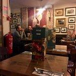 Spacious first floor dining at South Ken Bella Italia