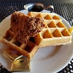 Chicken & Waffle, outstanding choice!