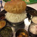 Idly & Veg thali