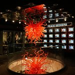 "Chandelier of the ""Flame of Liberty"" in our Heroes Gallery"