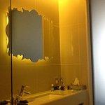 Standard bathroom with separate tub & shower #zenbiztravel