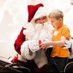 Come to the Eclipse in the Hyatt Regency Embarcadero for breakfast with Santa Claus.  It's worth
