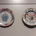 Plate with Coat of Arms. China Porcelain. 1740