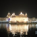The Golden Temple just a day before Diwali
