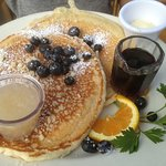 Pancakes & coconut syrup... wow