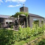 Cottage set amidst the vineyard