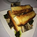 Bone Marrow Appetizer, reminds me of Europe