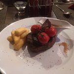Fillet Steak with peppercorn sauce