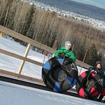 Tubing is a great family activity.