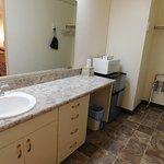 Wide bathrooms