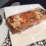 Delicious apple strudel in Croissanterie La Marseillaise