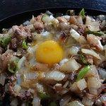 onion sisig