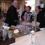 Chef Brian and a couple of staff memers having a good laugh!