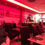 Inside the Toreros Tapas Restaurant